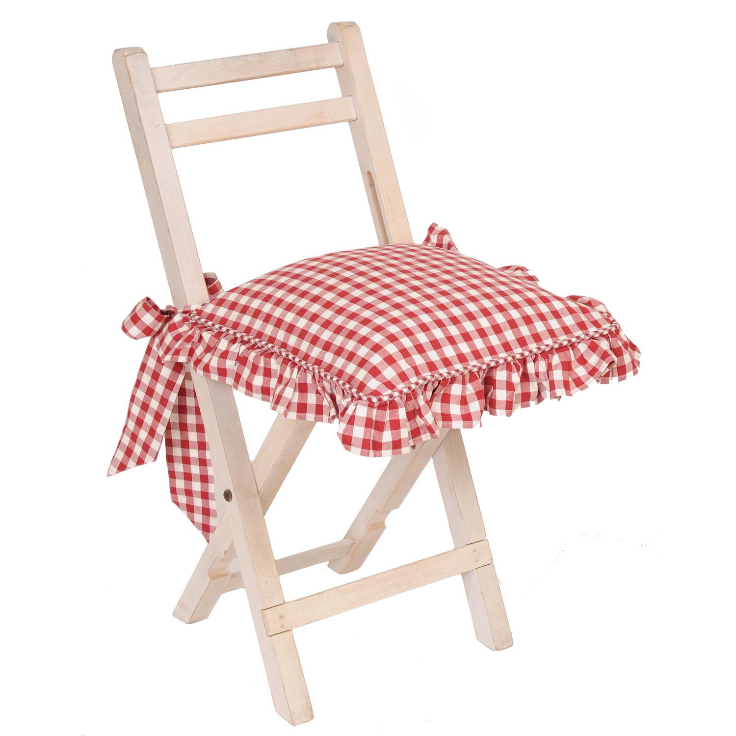 Clayre & Eef webshop::Home textiles::Cushions and fillers::Chair cushions and covers::CAO26N Chair cushion cover