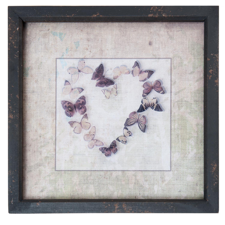 Clayre eef webshop voor winkeliers woondecoratie schilderijen en tekstborden harten - Entree schilderij ...