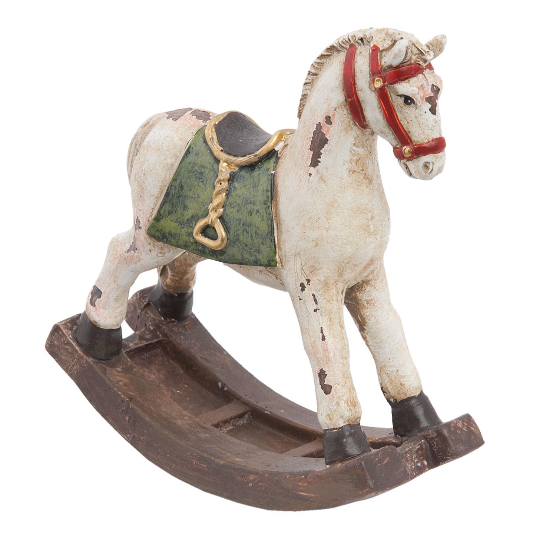 Schaukelpferd Pferd Deko Christmas Weihnachten Shabby Vintage ...