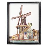 Schilderij windmolen