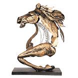 Beeld - kunstvoorwerp paard