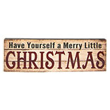 Tekstbord Christmas