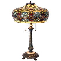 Tafellamp Tiffany compleet