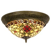 Ceiling lamp Tiffany