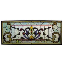 Decorative glass panel Tiffany