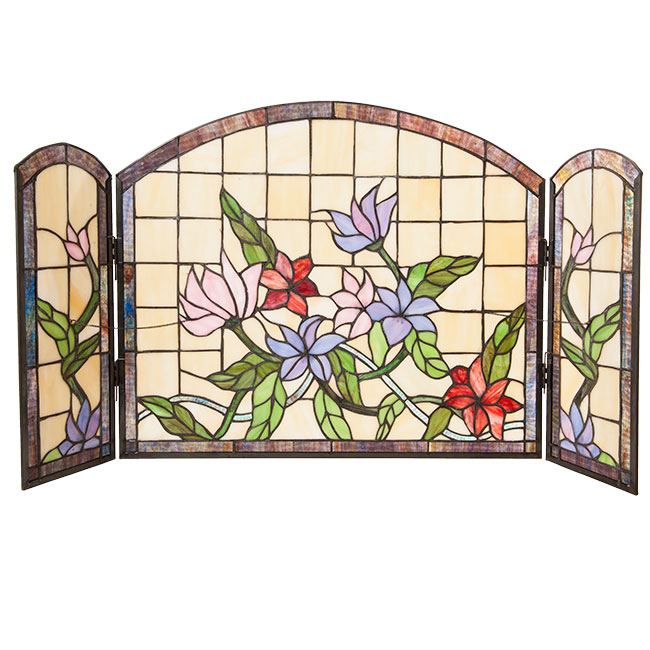 Fireplace screen Tiffany