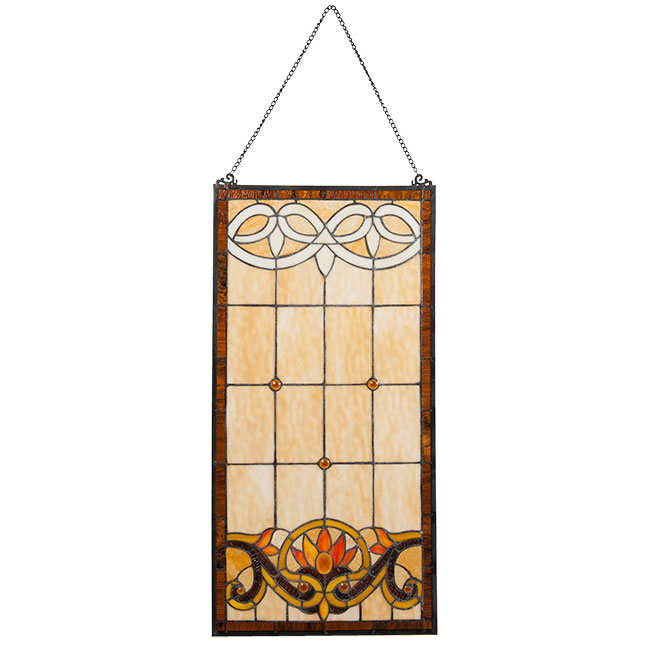 Tiffany glass panel