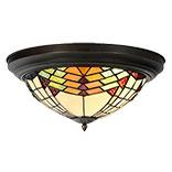 Plafondlamp Tiffany