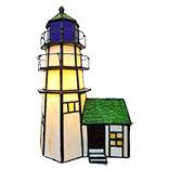 Tafellamp Tiffany vuurtoren