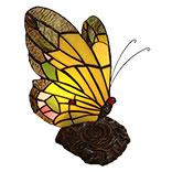 Tafellamp Tiffany vlinder
