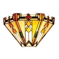 Wandlamp tiffany compleet