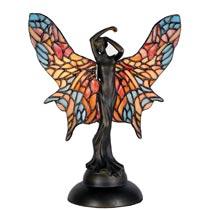 Vrouwtje met tiffany vleugels
