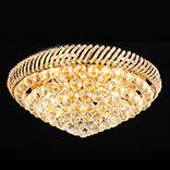 Plafondlamp kristal glas