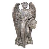 Decoratie beeld engel / plantenhouder