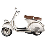 Wanddecoratie scooter