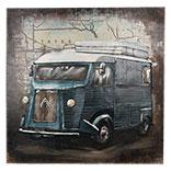 Wanddecoratie bus