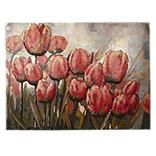 Wanddecoratie tulpen