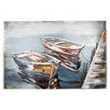 Wanddecoratie boten