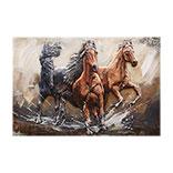 Wanddecoratie paarden