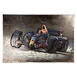 Wanddecoratie (Raceauto)
