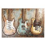Wanddecoratie gitaren