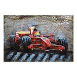 Wanddecoratie F1 raceauto