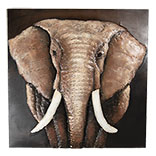 Wanddecoratie olifant