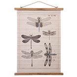 Wandkaart libelle