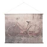 Wandkaart fiets