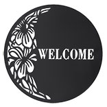 Wanddecoratie WELCOME
