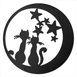 Wanddecoratie katten