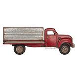 Wanddecoratie vrachtauto