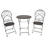 Tafel + 2 stoelen