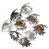 Wanddecoratie vissen