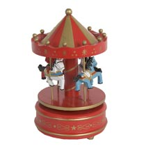 Music box carousel