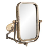 Draaibare spiegel met muurbevestiging
