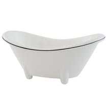 Mini bathtub dish