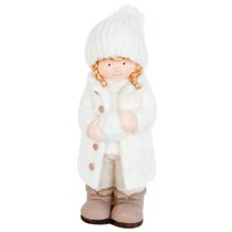 Meisje met sneeuwbal