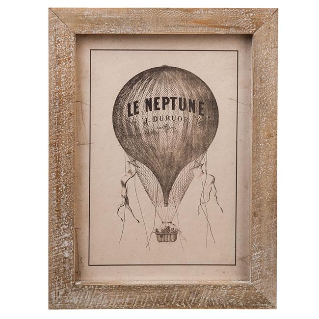 Schilderij luchtballon