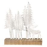 Decoratie kerstboom met eland