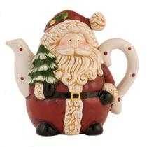 Theepot kerstman