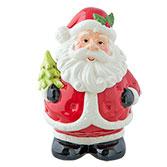 Voorraadpot kerstman