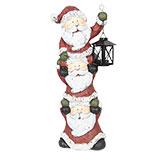 Kerstmannen met lantaarn