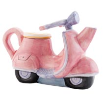 Theepot scooter