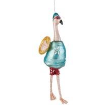 Kerstbal flamingo