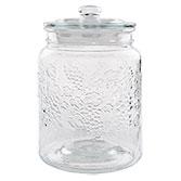 Storage jar with lid