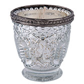 Tealight holder including candle