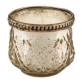 Teelichthalter inklusive Kerze