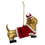 Kerstbal hond