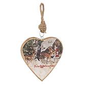 Hanger heart Frohe Weihnachten